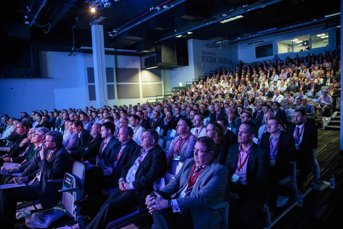 Publik på konferens