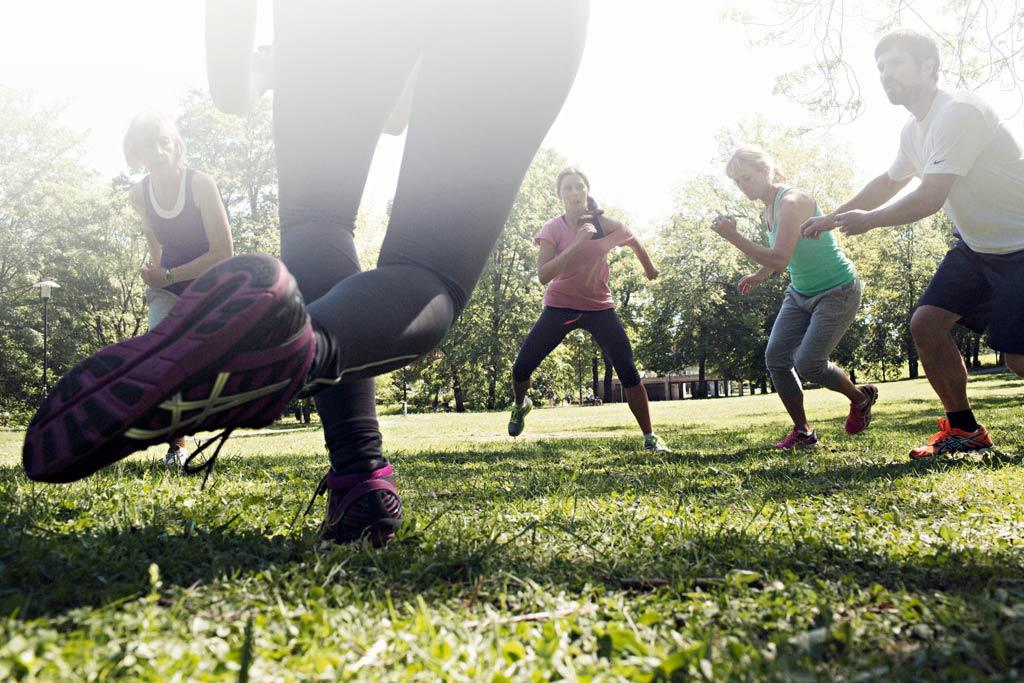 Gruppträning i grupp - en idé för en annorlunda kickoff